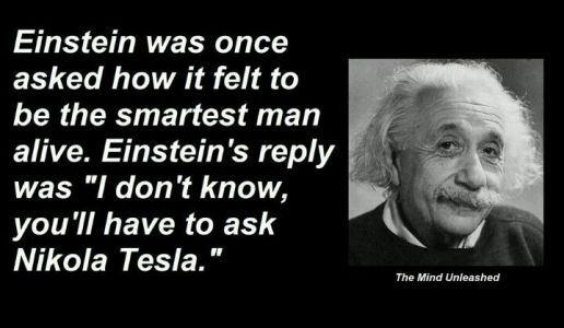 Einstein-Tesla-