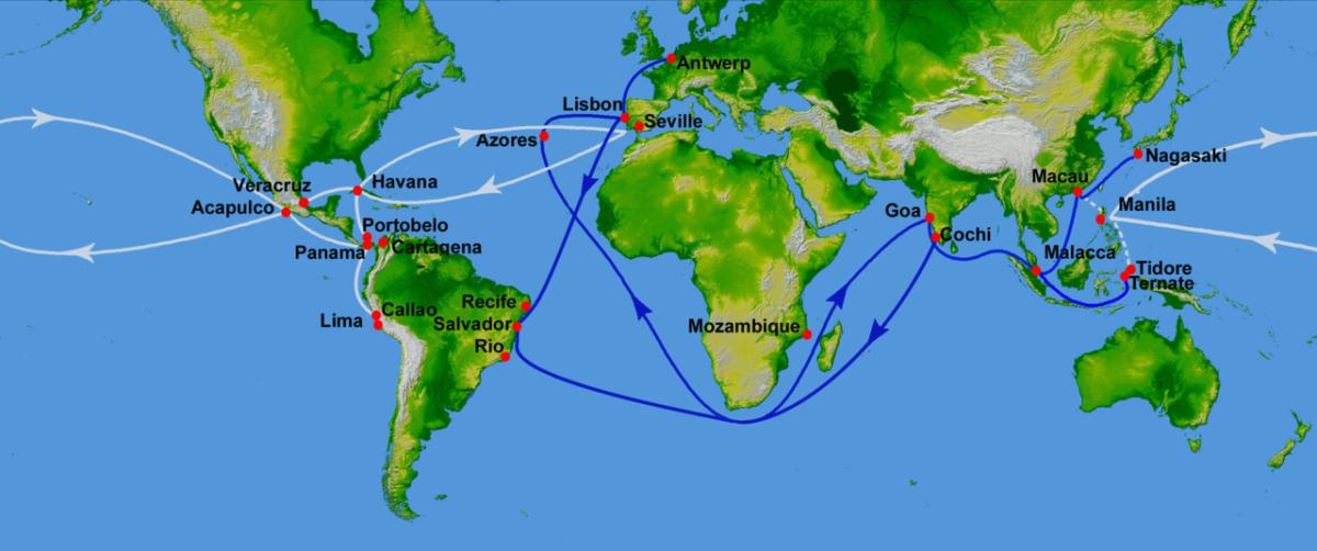 El Colón del Pacífico Andrés de Urdaneta